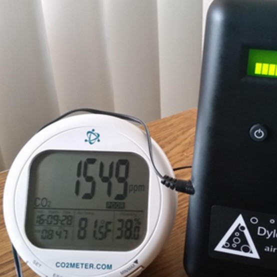 CO2Meter Indoor Air Quality Humidity Monitor