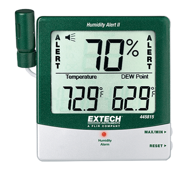 Extech Instruments Thermometer & Humidity Monitor