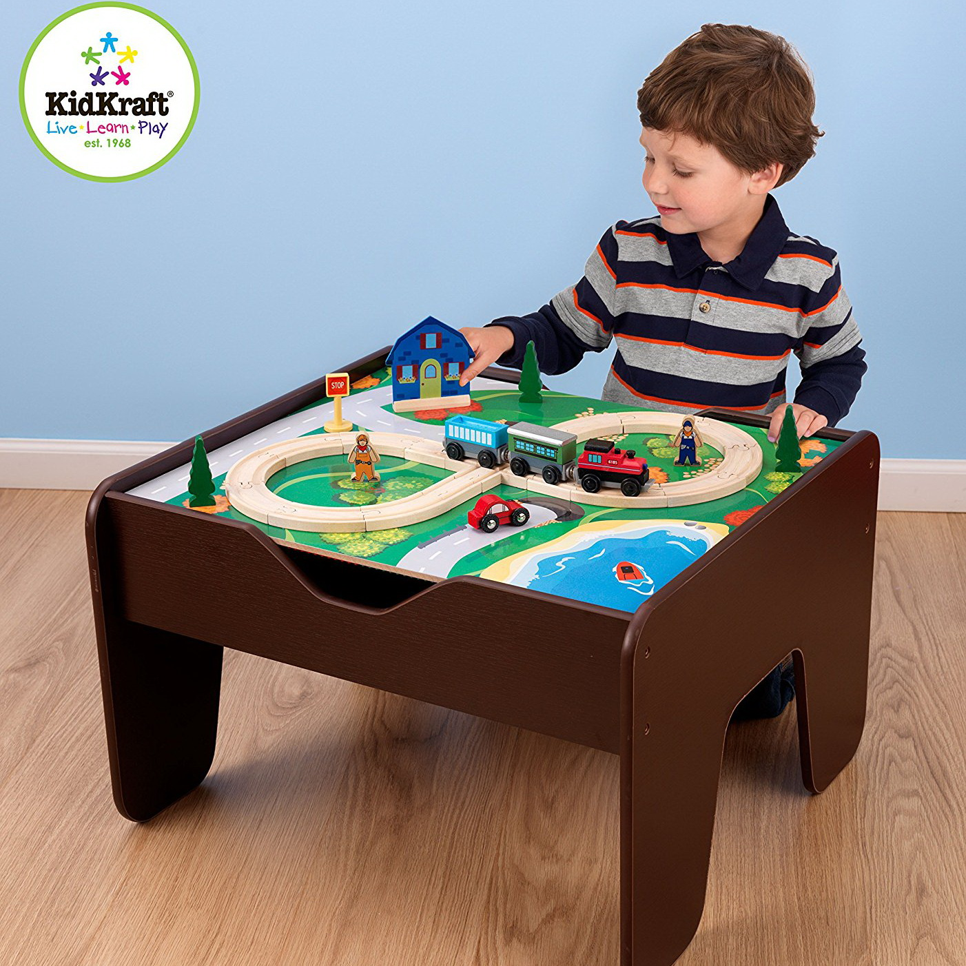 KidKraft 2 In 1 Activity Table With Board