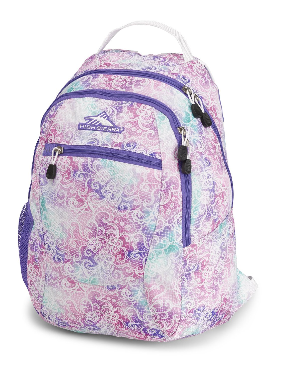 High Sierra Curve School Backpack for Girls (and Boys)