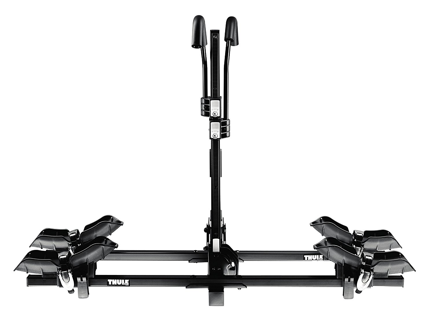 Thule Doubletrack Platform Bike Hitch Rack for 2 Bikes