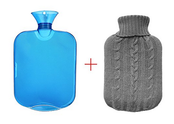 All One Tech Transparent Hot Water Bottle