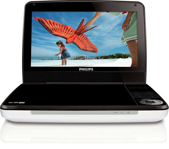 Philips 9-Inch DVD Player - PD9000/37 Travel DVD Player