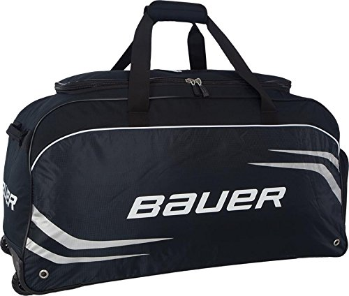 Bauer S14 Premium Wheeled Hockey Bag Medium Black