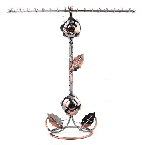 BJ Display Aspire Copper Necklace Holder Jewelry Stand