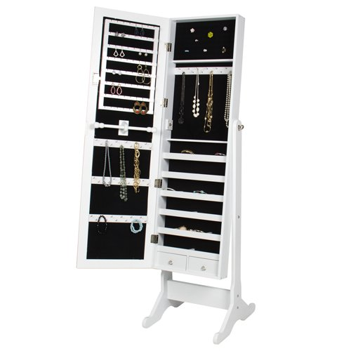 BCP Mirrored Jewelry Cabinet