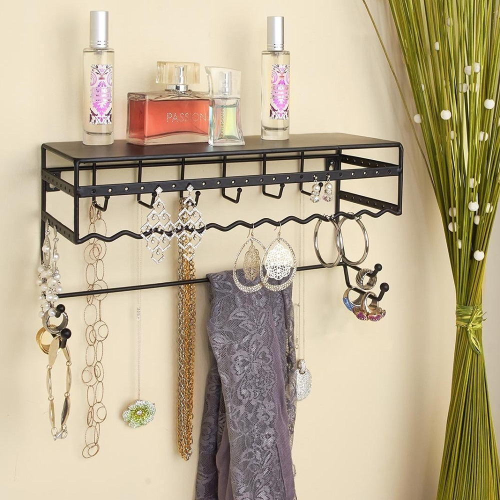 Simplify Wall Mount Jewelry Rack