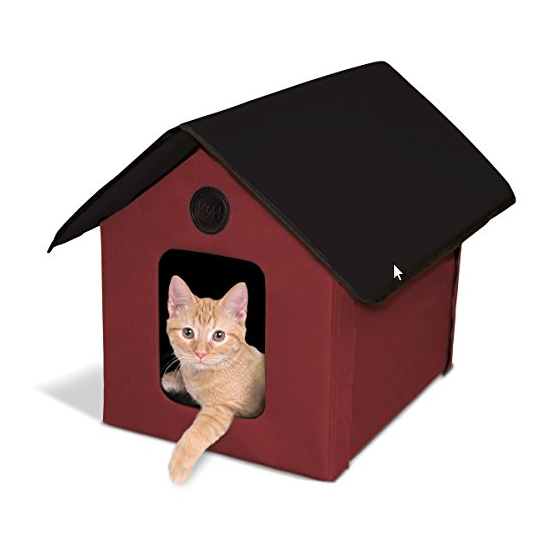 K&H Manufacturing Outdoor Kitty House (Heated & Unheated) - Available in 3 Colors