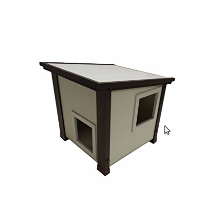 New Age Pet ecoFLEX Outdoor Feral Cat House