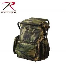 Rothco Backpack and Stool Combo Pack