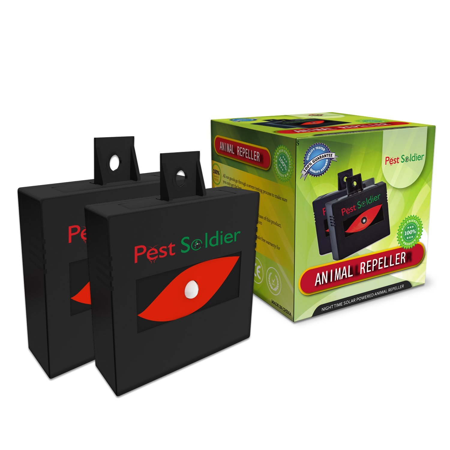 Pest Soldier Solar Powered Animal Repeller