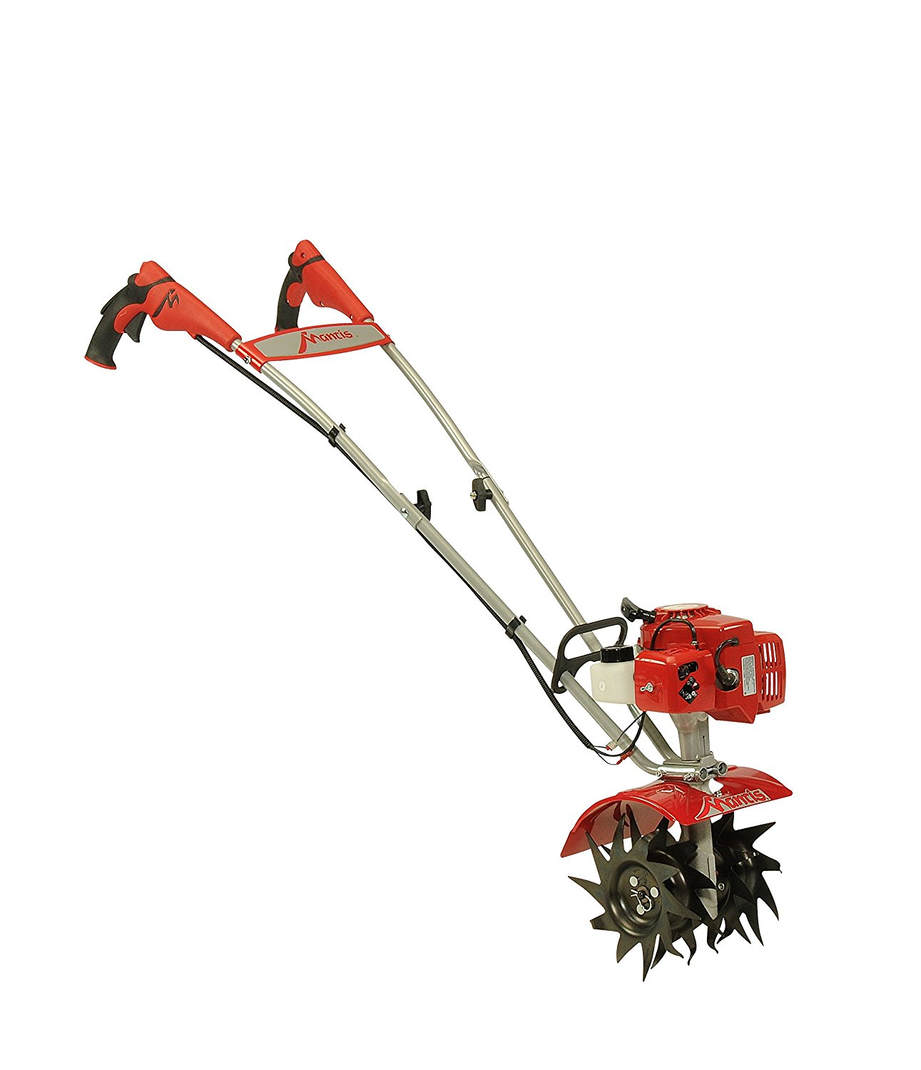 Mantis 7920 2-Cycle Ultra-Lightweight and Compact Gas Garden Tiller and Cultivator - Sure-Grip Handles, Also Available in 4 Cycle