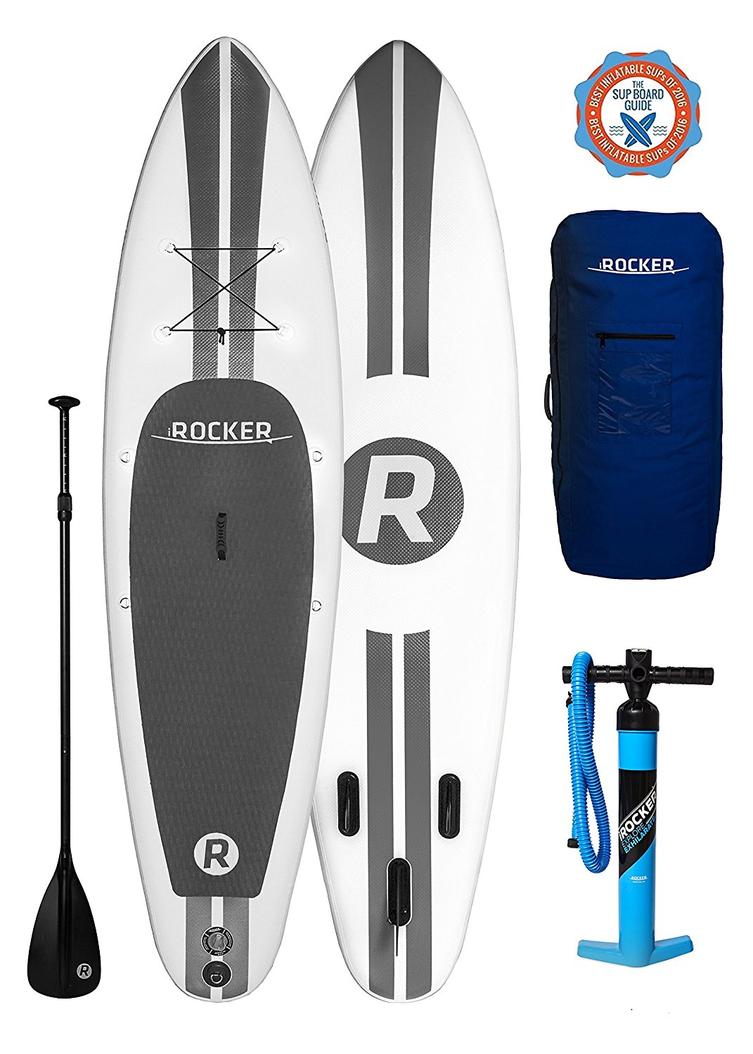 iRocker Wide Inflatable SUP Package