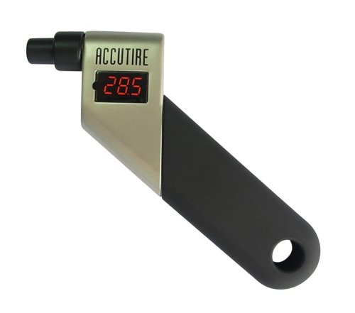 Accutire Digital Tire Pressure Gauge - Heavy Duty Construction, LCD Display, Available in 1 or 2 Packs