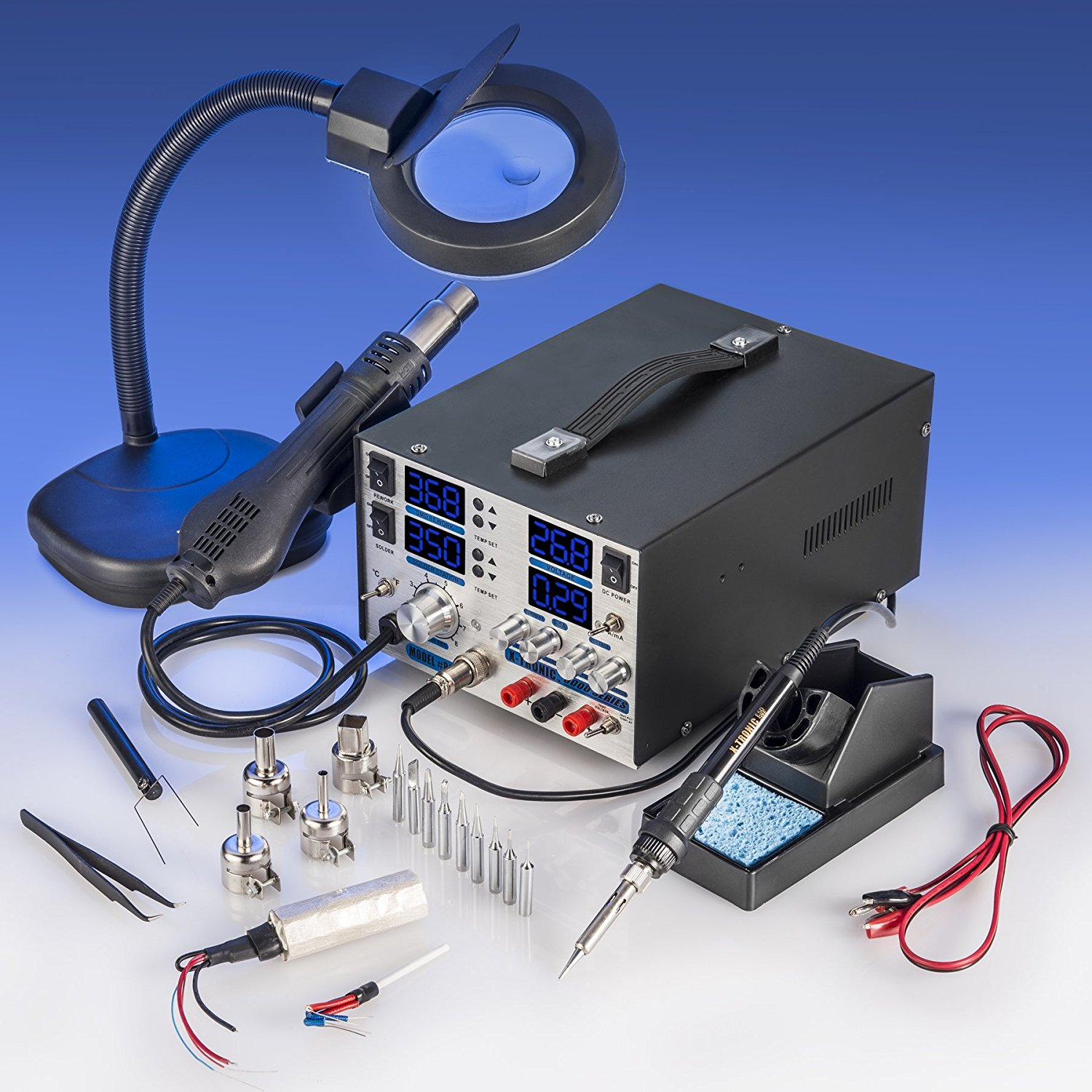 X-TRONIC 4 in 1 Soldering Station