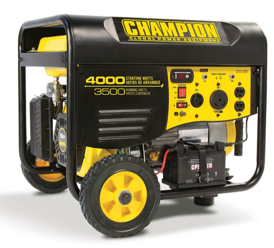 Champion 3500W Portable Gas Generator