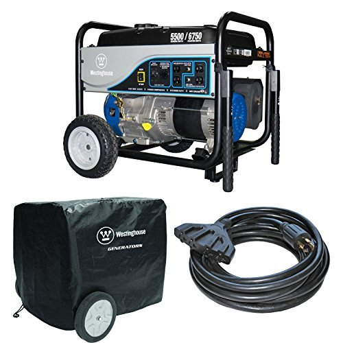 Westinghouse 5500W Gas Portable Generator