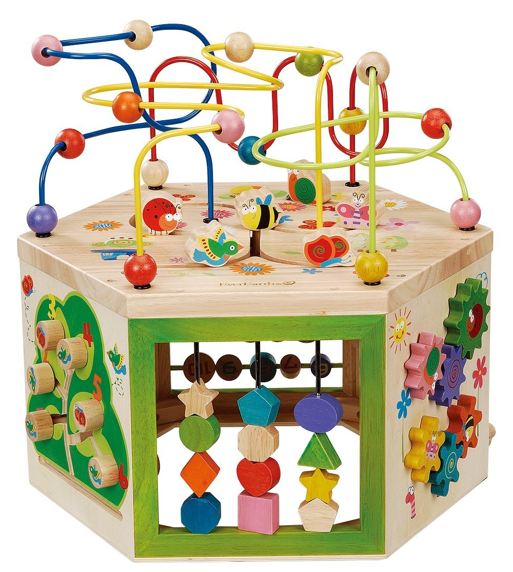 EverEarth 7 in 1 Garden Play Center / Activity Cube