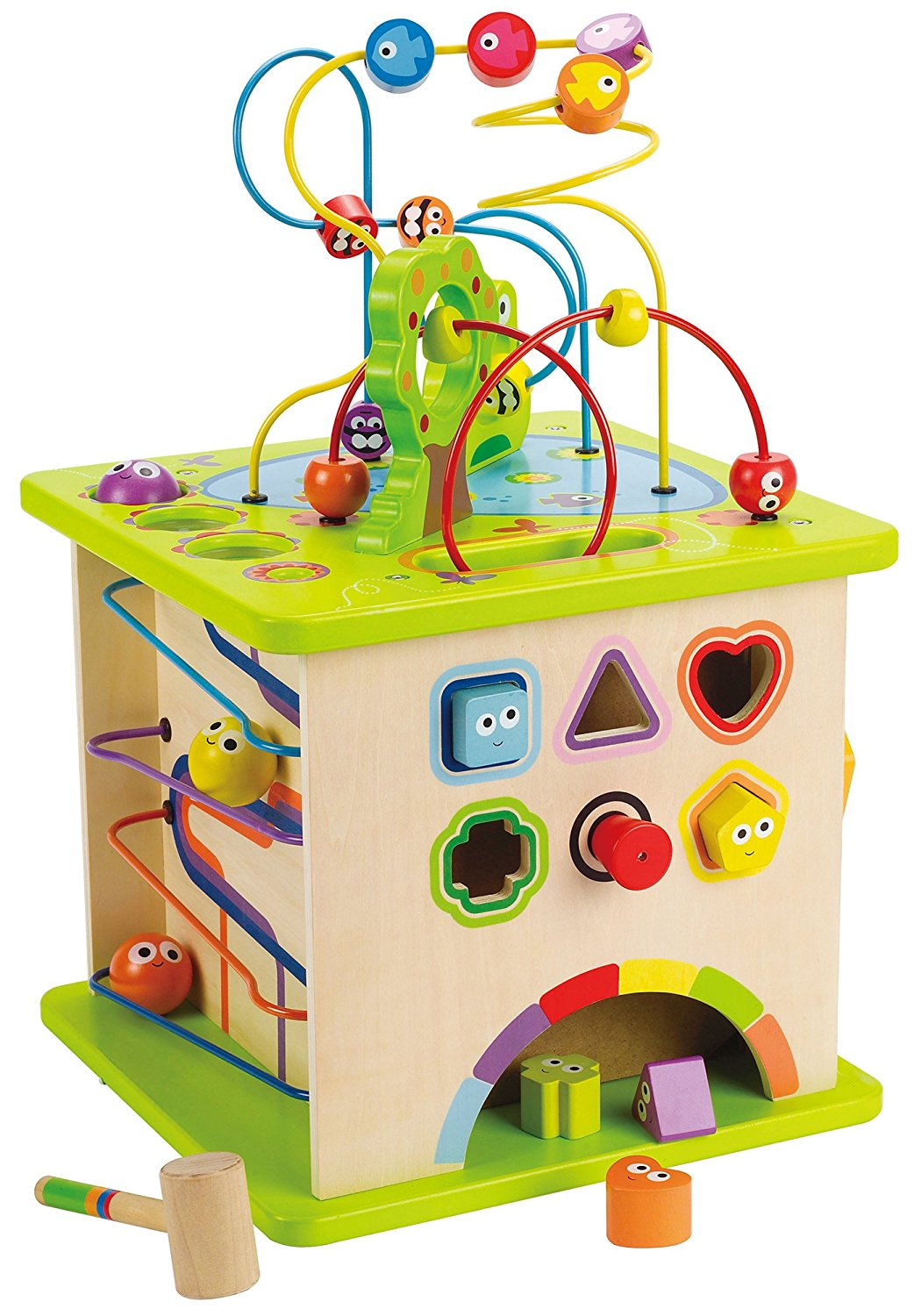 Hape Country Critters Activity Cube