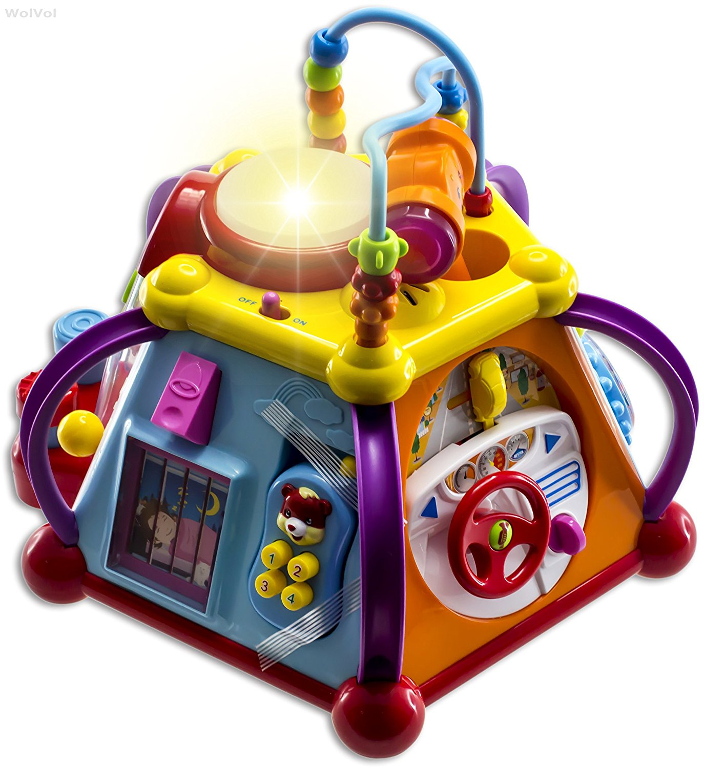 WolVol Musical Activity Cube