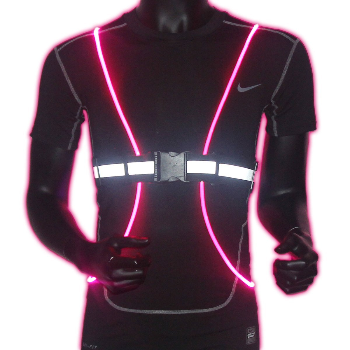Doerdo Safety Belt LED Vest