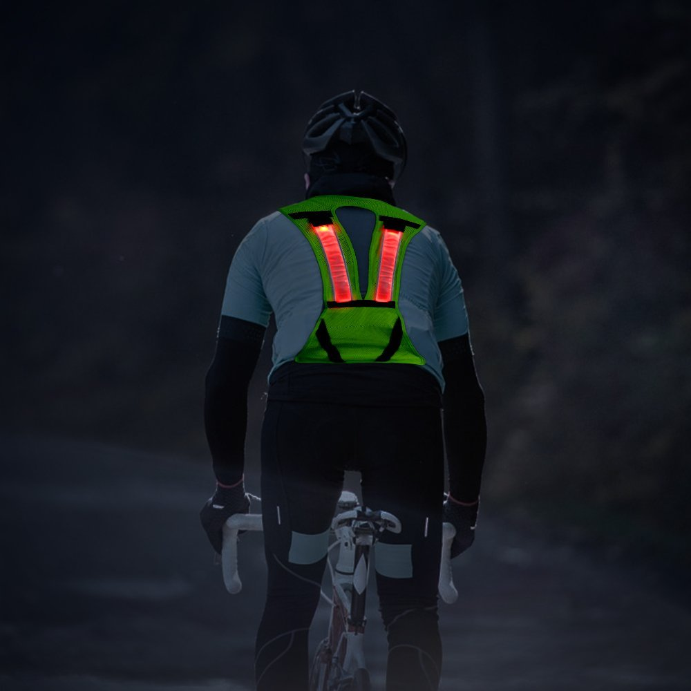 HiGo Reflective Safety LED Vest