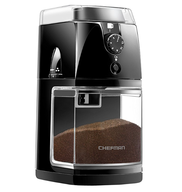 Chefman Electric Burr Coffee Grinder