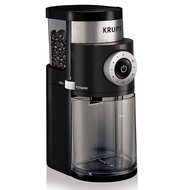 KRUPS Professional Electric Burr Grinder