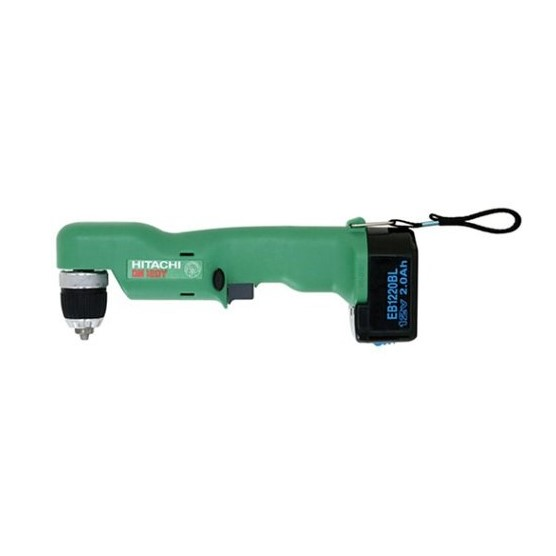 Hitachi 12V 3/8 Inch Right Angle Drill