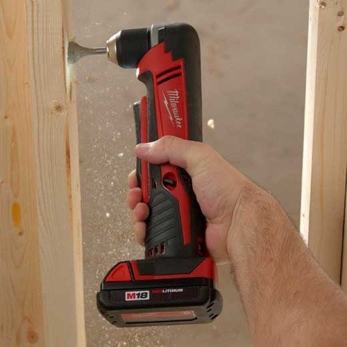 Milwaukee M18 Cordless Right Angle Drill Kit