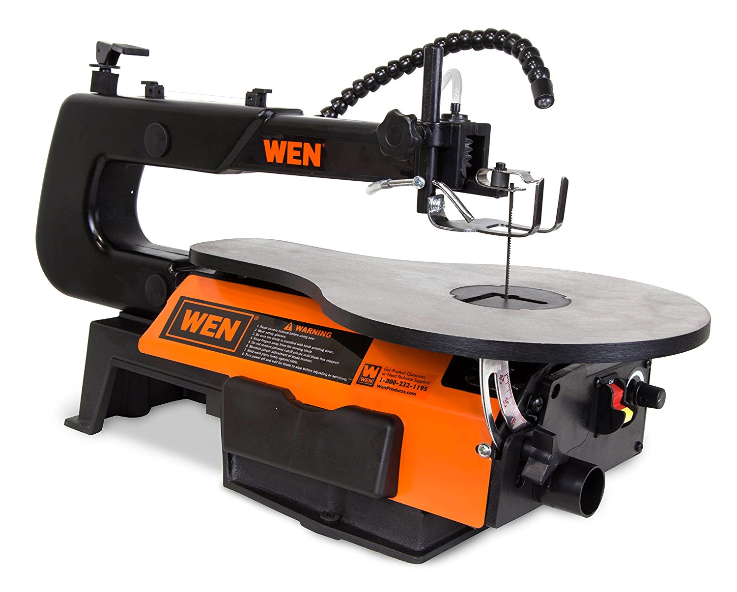 WEN 16-Inch Variable Speed Scroll Saw
