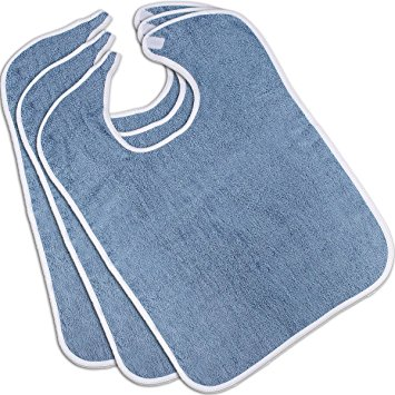 Utopia Towels Adult Bib Set