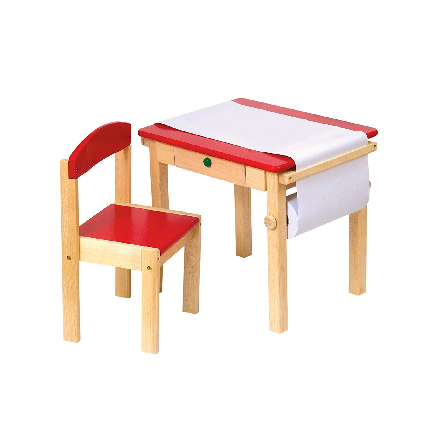 Guidecraft Kids Art Table and Chair Set