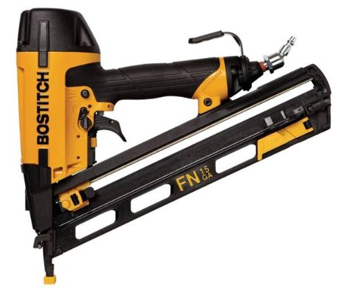 BOSTITCH N62FNK 15-Gauge 1 1/4-Inch to 2-1/2-Inch Angled Finish Nailer