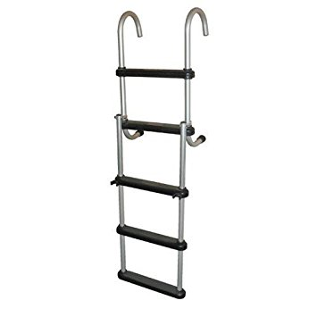 JIF Marine Anodized Pontoon Ladder