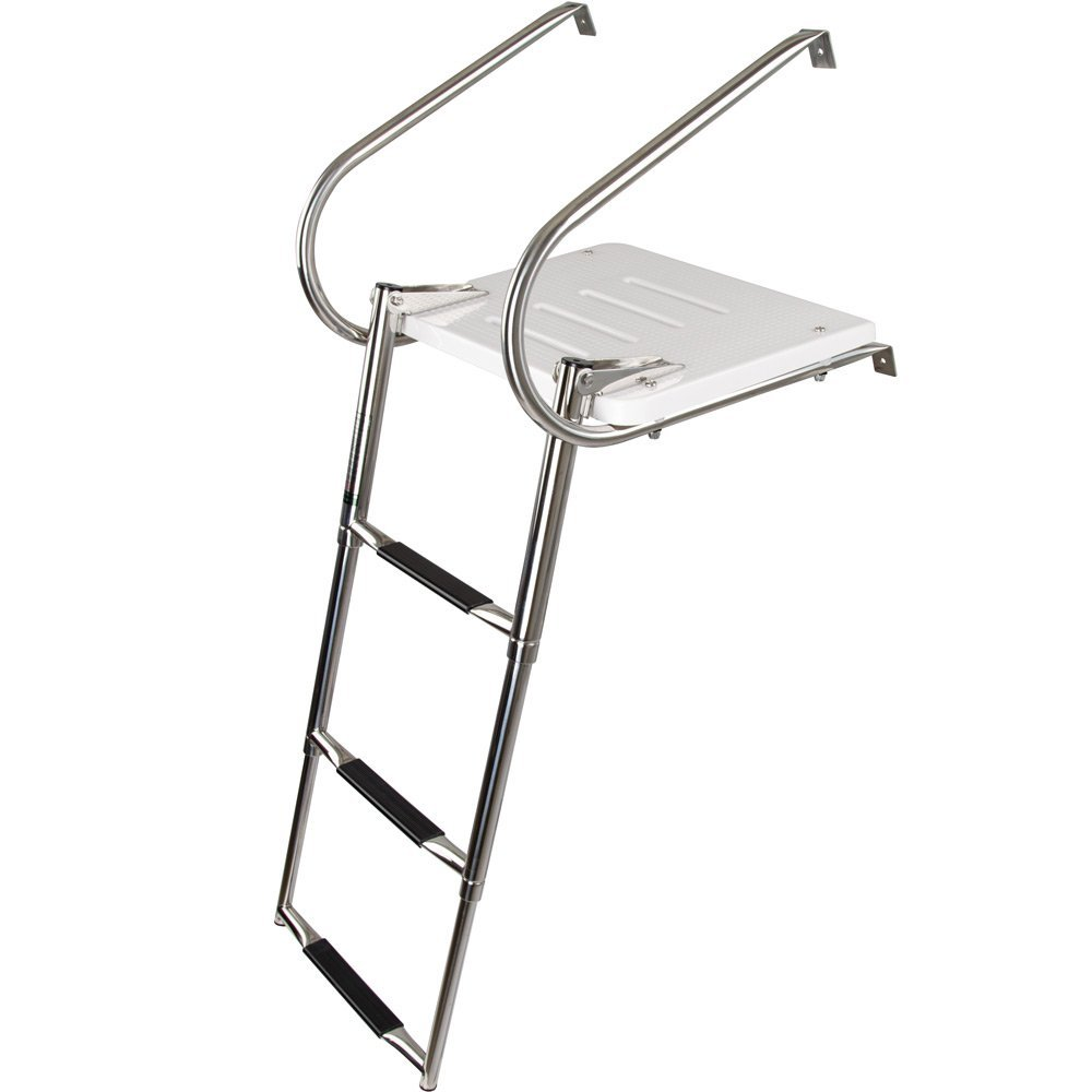 Rage Powersports SP-3S Telescoping Boat Ladder