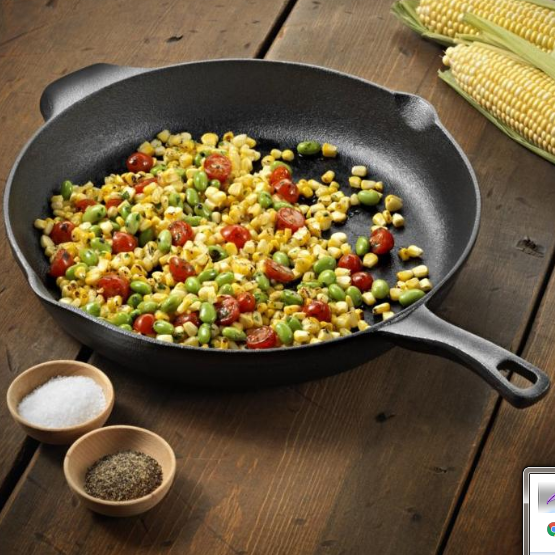 Calphalon Cast Iron 12 Inch Pre-Seasoned Skillet