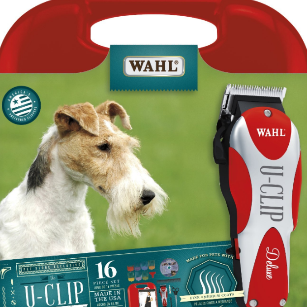 Wahl's Professional U-Clip Pet Grooming Kit