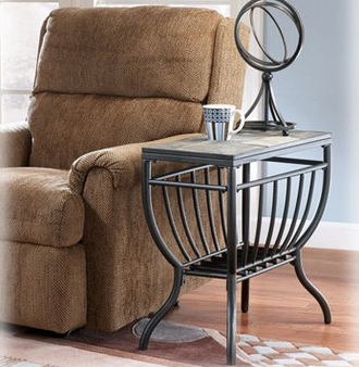 Ashley Antigo Chairside End Table
