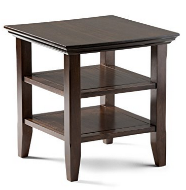 Simpli Home Acadian End Side Table