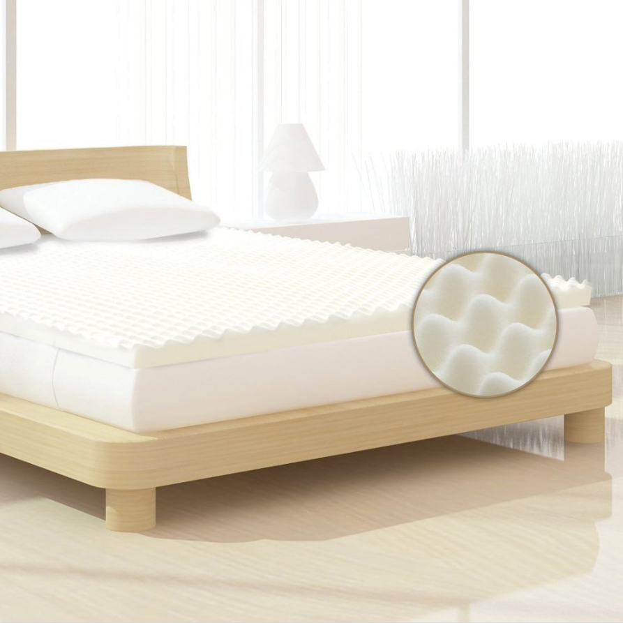 Milliard Bedding Egg Crate Ventilated Memory Foam Topper