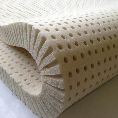 Sleep on Latex Pure Green Latex Mattress Topper- Medium