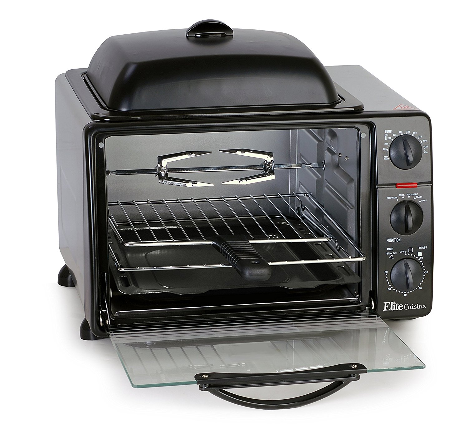 MaxiMatic Elite Toaster Oven with Rotisserie