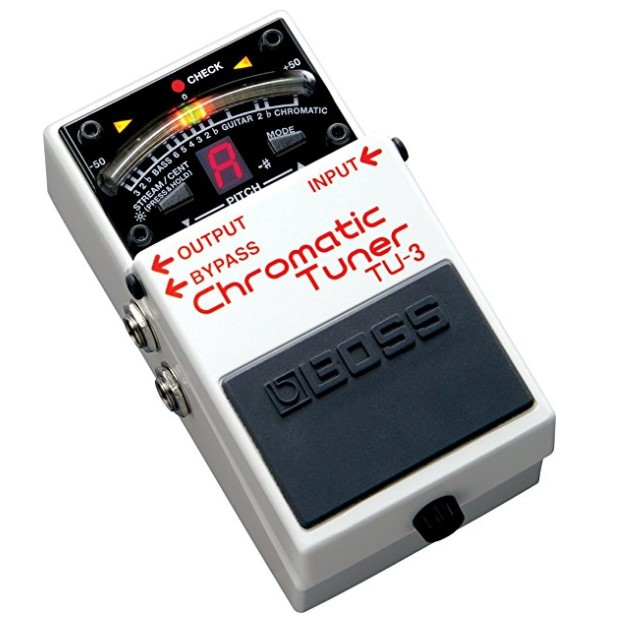BOSS Audio TU3 Guitar Tuner