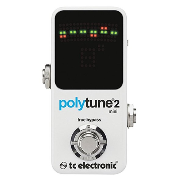 TC Electronic PolyTune 2 Tuner – Available as Polytune or Polytune Mini & as a Pedal Tuner or Tuner Bundle