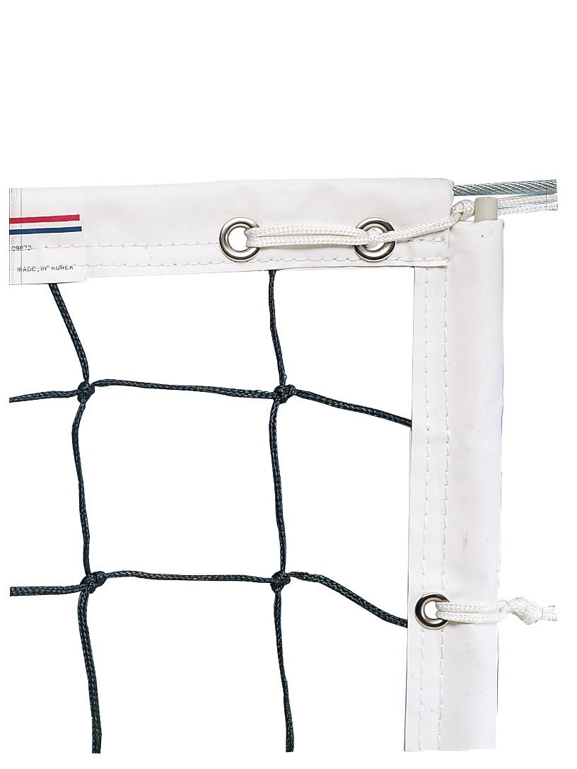 Champion Sports Official Olympic Power Volleyball Net – Durable Side Pockets, Rip-Resistant Nylon