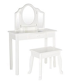 Guidecraft Classic Kids' Vanity