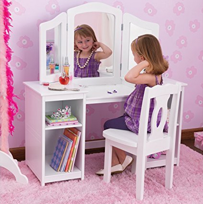 KidKraft Deluxe Kids' Vanity & Chair