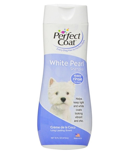 Perfect Coat White Pearl Shampoo for Dogs