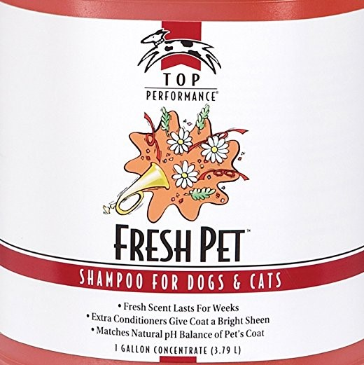Top Performance Fresh Pet Shampoo